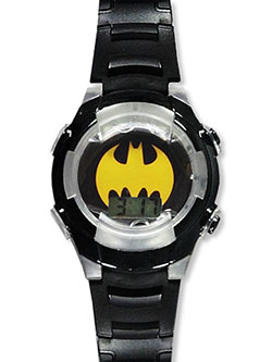 Flashing LCD Watch by Batman in Pink, Toys
