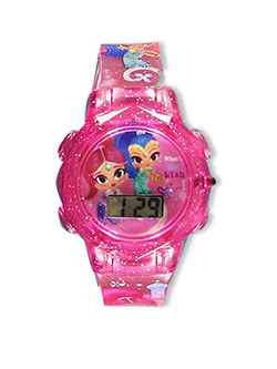 Flashing LCD Watch by Shimmer and Shine in Pink