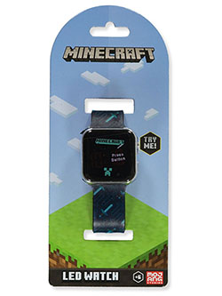 LED Watch by Minecraft