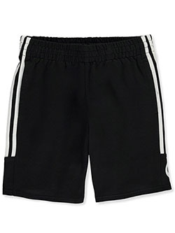 Boys' Jersey Shorts by Adidas in White/black, Boys Fashion
