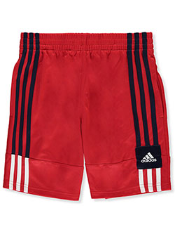 Boys' Performance Mesh Triple Stripe Shorts by Adidas in Multi