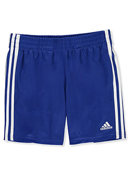 Boys' Classic 3-Stripe Mesh Shorts by Adidas in Multi