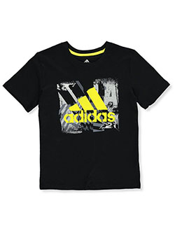 Boys' Spray Stencil Logo T-Shirt by Adidas in Multi