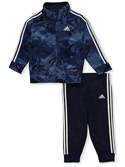 Camo Print 2-Piece Tracksuit Outfit by Adidas in Multi - Active Sets