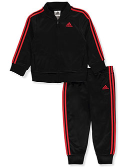 Baby Boys' 2-Piece Sweatsuit Outfit by Adidas in Black multi - Active Sets