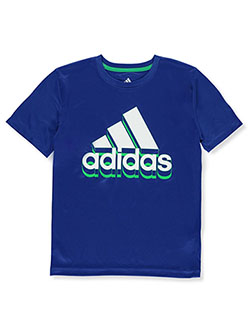 Boys' Shadow T-Shirt by Adidas in Navy, Boys Fashion