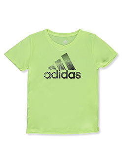 Girls' Performance T-Shirt by Adidas in Yellow