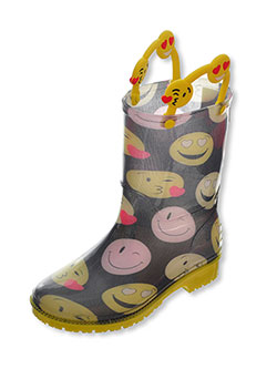 Yokids Girls' Rubber Rain Boots (Sizes 5 – 10) - CookiesKids.com