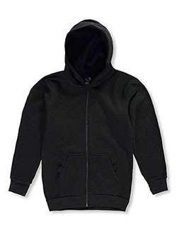Hoodie by Quad Seven in black, charcoal gray, gray and navy, Sizes 2T-4T