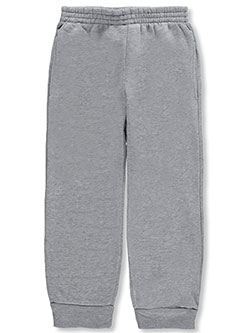 "Little Boys' ""Classic Style"" Joggers by Quad Seven in Gray"