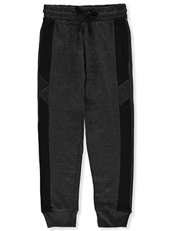 Boys' Joggers by Quad Seven in Black/gray, Sizes 8-20