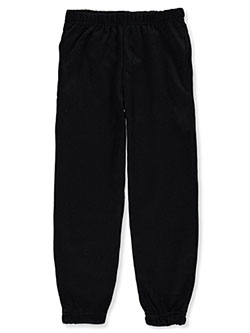 Girls' Pocket Seam Joggers by Real Love in black, coral, navy and more, Girls Fashion