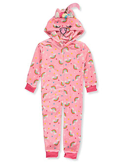 CHILI PEPPERS Girls Character Hooded 1-Piece Pajamas