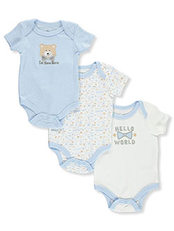 m New Here 3-Pack Bodysuits by Duck Duck Goose in Multi