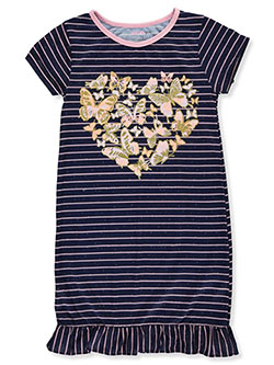 Girls' Floral Heart Nightgown by Delia's Girl in Multi