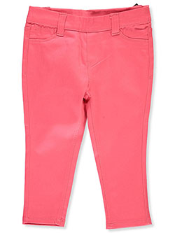 Baby Girls' Twill Pants by Real Love in Coral