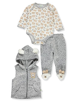 Baby Boys' 3-Piece Layette Set by Duck Duck Goose in Multi