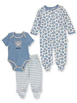 Baby Boys 3-Piece Layette Set by Duck Duck Goose in Multi