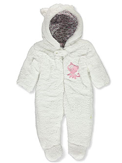 Baby Girls' Cat Plush Pram Suit by Duck Duck Goose in Multi - $32.00
