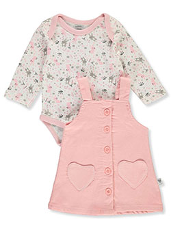 Bunny 2-Piece Jumper Set Outfit by Duck Duck Goose in Multi, Infants