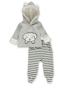 Pup 2-Piece Pants Set Outfit by Duck Duck Goose in Multi
