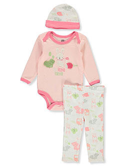 Best Friend 3-Piece Layette Set by Little Joy in Multi