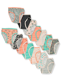 Girls' 14-pack Panties by 1000% Cute in Multi