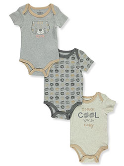 Boys' 3-Pack Bodysuits by Duck Duck Goose in Multi, Infants