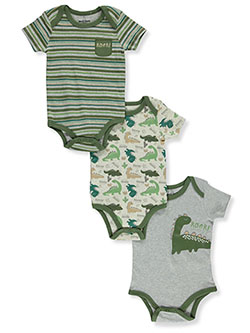 Boys' Roar 3-Pack Bodysuits by Duck Duck Goose in Multi, Infants