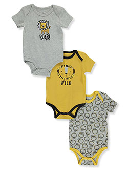 Boys' Lions 3-Pack Bodysuits by Duck Duck Goose in Multi, Infants