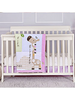 3-Piece Crib Set by Dream On Me in Brown multi, Infants