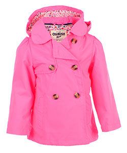 OshKosh Girls' Hooded Raincoat - CookiesKids.com