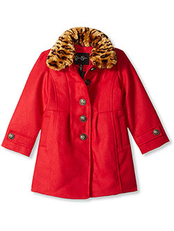 Girls' Coat by Jessica Simpson in Red