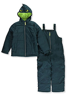 Boys' Monster Hood 2-Piece Snowsuit by Carter's in Green, Boys Fashion