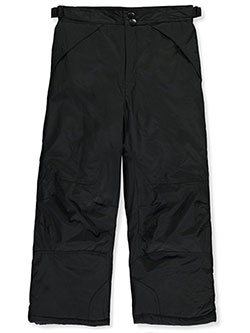 Boys' Insulated Snow Pants by London Fog in black and navy, Boys Fashion