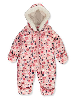 Floral 1-Piece Insulated Pram Suit by Carter's in Floral