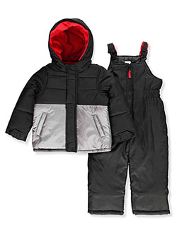 Baby Boys' Paneled 2-Piece Snowsuit by Carter's in Black