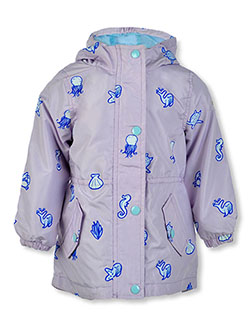 Baby Girls' Sea Print Hooded Jacket by OshKosh