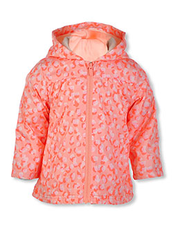 Baby Girls' Cat Print Hooded Jacket by Carter's in Pink - $16.99