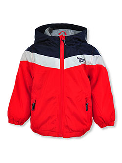 Baby Boys' Stripe Hooded Jacket by Carter's in Red