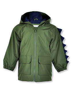 Baby Boys' Dinosaur Hooded Jacket by Carter's in Green