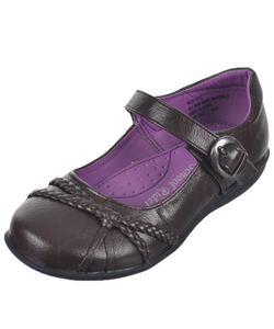 "School Rider Girls' ""Twisters"" Mary Janes (Toddler Sizes 9 – 12) - CookiesKids.com"