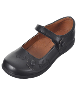 "School Rider Girls' ""Jackie"" Mary Janes (Youth Sizes 13 – 4) - CookiesKids.com"