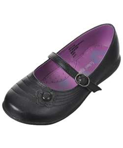 "School Rider Girls' ""Flower Nicki"" Mary Janes (Toddler Sizes 9 – 12) - CookiesKids.com"