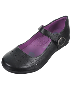 "School Rider Girls' ""Tiffany"" Mary Janes (Youth Sizes 5 – 10) - CookiesKids.com"