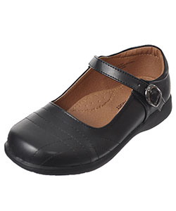 "School Rider Girls' ""Graphite"" Mary Janes (Toddler Sizes 11 – 12) - CookiesKids.com"