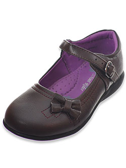 Girls' Mary Jane Shoes by School Rider in Brown