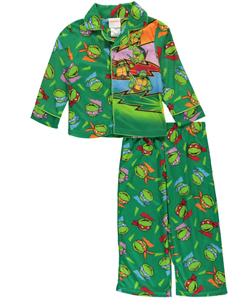 "Teenage Mutant Ninja Turtles Little Boys' Toddler ""Lightning"" 2-Piece Pajamas (Sizes 2T – 4T) - CookiesKids.com"