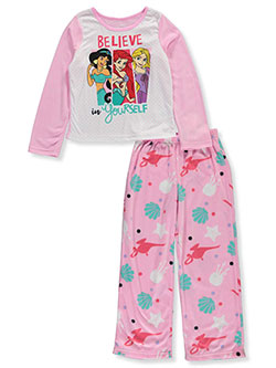 Princess Believe in Yourself 2-Piece Pajamas by Disney in Multi, Sizes 4-6X