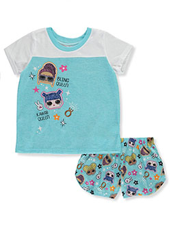 Girls' Queen 2-Piece Pajamas by LOL Surprise in Multi